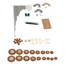 Soprano Sax Saxophone Repair Parts Kit for Wind Woodwind Instrument Parts