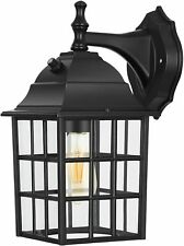 DEWENWILS Outdoor Wall Light Fixture Exterior Dusk to Dawn Wall Sconce Light