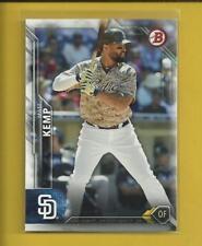 Matt Kemp 2016 Bowman Card # 110 Los Angeles Dodgers Baseball MLB