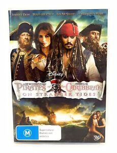 Pirates of the Caribbean On Stranger Tides DVD Johnny Depp Region 4 Free Post