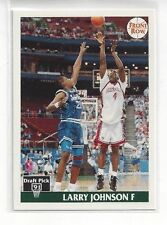 1991 FRONT ROW BASKETBALL LARRY JOHNSON #44 - CAREER HIGHLIGHTS - UNLV