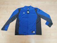 Nike Team Jordan Jacket Mens Large  924707-493 Dri-fit Full Zip NWT size XL