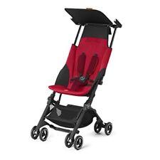 Poussettes et systèmes combinés de promenade rouge avec capuche, auvent pour bébé
