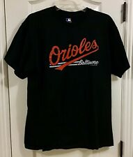 Baltimore Orioles MLB T-Shirt Black Large
