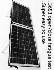 12V 120W Folding solar panel Kit.  Easy to use. Suit Lead Acid & Lithium Battery