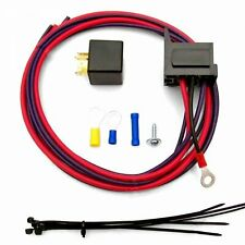 Electric Fan Relay Kit with Plug n Play Harness ZIRZFRAS muscle rat truck