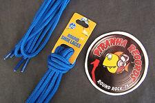 "Blue Thin Round 45"" x (1/8""-3/8"") JN Shoelaces Shoe Strings Piranha Records"
