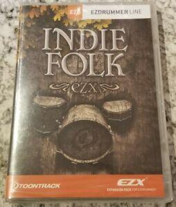 Toontrack Indie Folk EZX Expansion for EZ Drummer, Sealed!