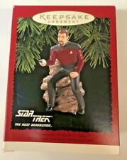 Hallmark Star Trek Chrismas Ornament Commander William T. Riker H6