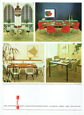 Publicité advertising 118  1964   Knoll International meubles  Christian Chassin