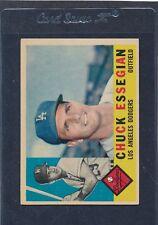 1960 Topps #166 Chuck Essegian Dodgers EX 60T166-20116-3