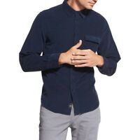 DKNY NEW Men's Corduroy Soft Button-Front Shirt TEDO
