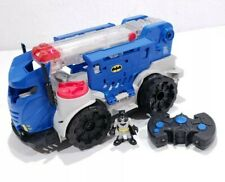 Imaginext Batman Mobile Command Center Vehicle Car W/REMOTE WORKS Fisher-Price