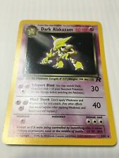Dark Alakazam  1/82 1st NM Pokemon Team Rocket  Holo Rare