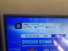 PSN Fifa 2019 6,4 millions de credits + aguero tots + De Bryune tots et autres