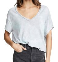 Free People Womens Tops Gray Size Medium M Knit V-Neck Cutout-Back $68 197