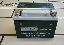 Landport BATTERIE SLA12-4 Gel-System *5Ah-NEU*  Roller