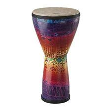 "REMO Djembe, Festival, Medium, 10"" Diameter, 20"" Height, Fabric Rainbow"