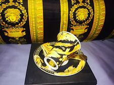 VERSACE VANITY ESPRESSO COFFEE CUP SAUCER  SMALL SIZE  ONLY 1 LEFT  NEW  SALE