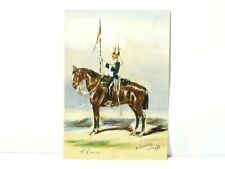 Original Watercolour Painting 17th Lancers After Simkin #RG2