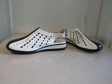 Minri UK 7.5 BNWB 100% Pure Leather Low Heel Walking Holiday Shoes Slingbacks 41