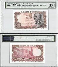 Spain 100 Pesetas, 1970 (ND 1974), P-152a, M. de Falla, PMG 67