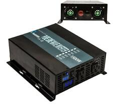 Off Grid Pure Sine Wave Power Inverter 1500W(3000W Peak) 48VDC To 120V/240VAC
