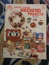 Plastic Canvas Weekend Projects pattern booklet