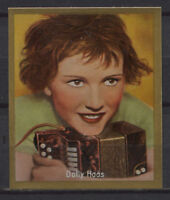 Dolly Haas Vintage Cigarette Trading Card No.242