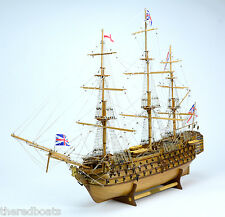 "HMS VICTORY Tall Ship Model 40"" -  Handmade Wooden Model Ship NEW"