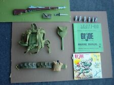 Early TM TM Gi Joe Vintage Marine Beachhead Assault Field Pack Set