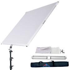 "43x43"" Foldable Flat Panel Reflector Flag 19mm Frame Photo Studio Photography"