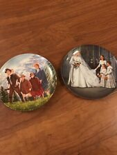 New ListingLot of 2 The Sound of Music Collector Plates by Knowles 1987