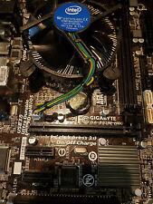 Intel I7-4770s Quad Core processor and Gigabyte motherboard Combo