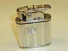 BEBE 365 automatic lighter W. 835 SILVER Case - (Crescent & Crown) -1936 - Germany