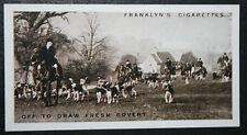 Belvoir Foxhounds     Vintage 1920's Photo Card  VGC / EXC