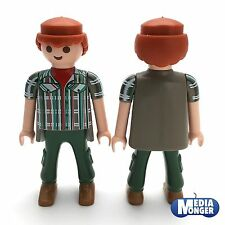 playmobil figurine: Aventurier Garde-forestier Cowboy Chemise manches courtes
