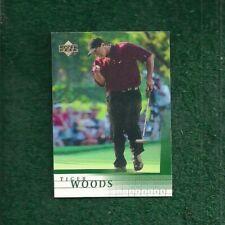 TIGER WOODS - 2001 - UPPER DECK - ROOKIE - CARD # 1 - PGA GOLF