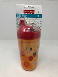 Fisher Price Activity Cup Pizza 10 oz. Sippy Cup for Toddlers