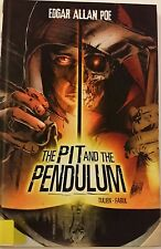 Graphic Novel The Pit and the Pendulum 2013 Hardcover Book Library Copy