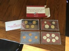 2009-S UNITED STATES MINT SILVER PROOF SET W/ BOX & COA 18 COINS... USA