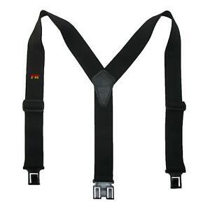 New Perry Suspenders Men's Elastic Flame Retardant Hook End Work Suspenders