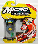 Micro Chargers Series 3 Launcher Pack Electronic Racing Race Cars Tracks - GREEN