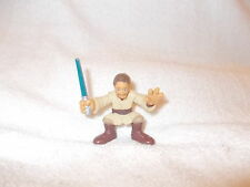 Star Wars Figure Galactic Heroes Obi Wan Kenobi Jedi Pale 2-3 inch loose 2004
