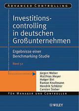 Weber-Investitionscontrolling in deutschen BOOK NEW