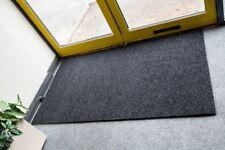 BEST Commercial Brush Entrance Mat Anthracite 70cm x 180cm UK Floor Mat
