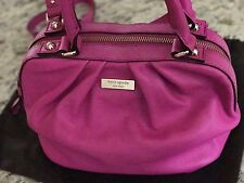 NWT Kate Spade Five Points Kinsey Hot Fuchsia Crossbody Bag -MSPR $398