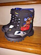 Lightning McQueen Mater Boys Girls Toddler Winter Snow Boots Shoes Sz Small 5 6