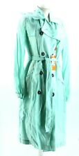NEW Ladies Hugo Boss Mint Green Trench Coat UK 8 (S) - RRP £199