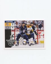 18/19 PANINI NHL STICKER STANLEY CUP PLAYOFFS #550 PREDATORS VS JETS *57272